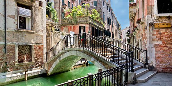 viaje a Venecia con presupuesto bajo coste