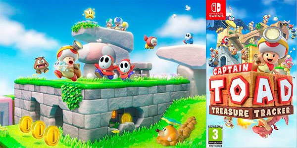 Videojuego Captain Toad Treasure Trackerpara Nintendo Switch barato