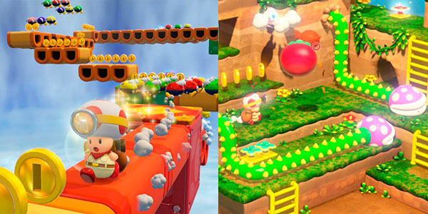 Videojuego Captain Toad Treasure Tracker para Nintendo Switch en oferta