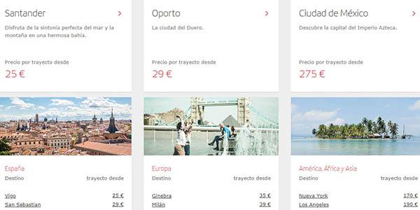 vuelos Iberia ofertas para viajar otoño-invierno promoción septiembre 2018