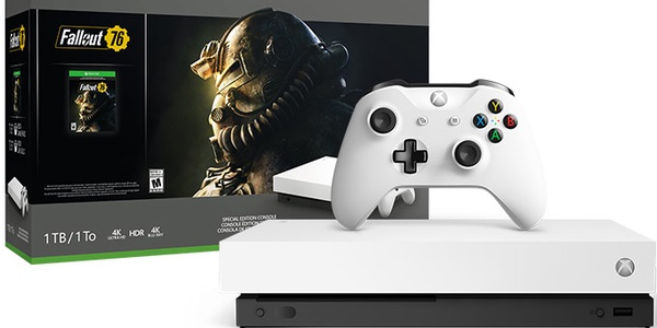 Xbox One X blanca barata
