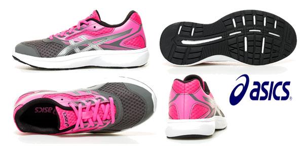 Zapatillas de running Asics Stormer GS para mujer chollo en eBay