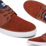 Zapatillas de estilo casual DC Shoes Studio 2 (modelo Navy White) para hombre en oferta