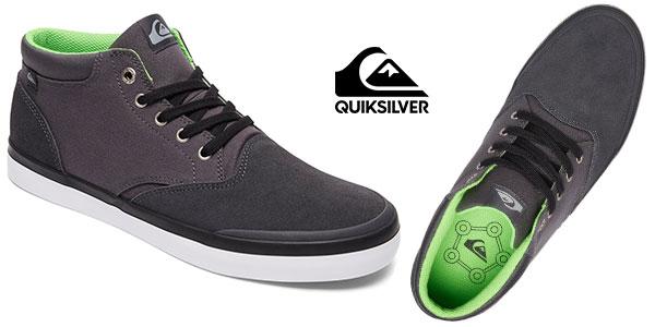 Zapatillas de lona de media altura Quiksilver Verant de estilo casual en oferta
