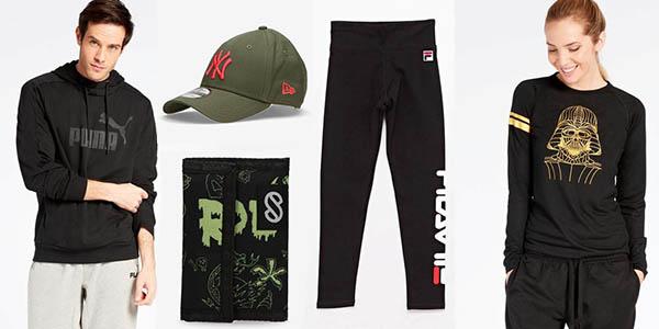 zapatillas deportivas y ropa de primeras marcas en las rebajas de media temporada de Sprinter