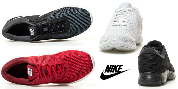 Zapatillas de running Nike Revolution 4 en varios colores en oferta