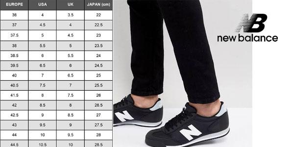 Zapatillas New Balance v370 color negro para hombre chollazo en Asos