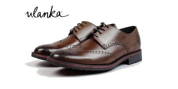 Zapatos de vestir Mark Davies Refugio en color marrón camel para hombre chollazo en Ulanka