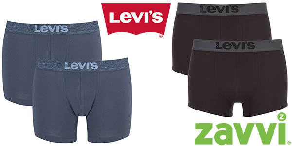 Zavvi promoción 4 bóxers Levi's baratos marzo 2018