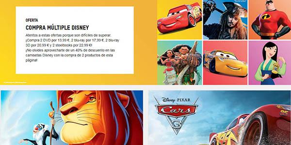 Zavvi promociones en productos Disney con código descuento