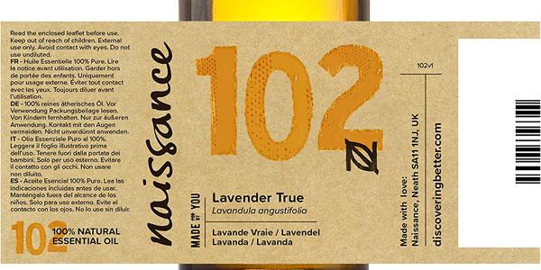 Aceite Esencial Naissance Lavanda de 50ml chollazo en Amazon