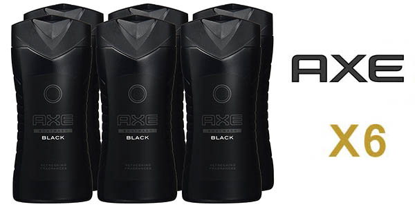 Axe Black pack 6 botes de 250 ml baratos