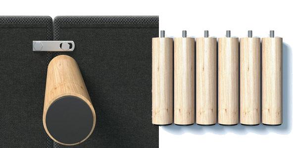 Base tapizada con válvulas de transpiración, revestida de tejido 3D en varias medidas oferta en Amazon