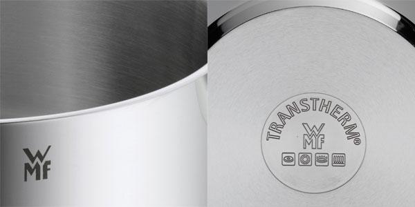 Cacerola con tapa WMF Diadem Plus de 20cm de diámetro y 3 litros en acero inoxidable chollazo en Amazon