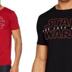 Camiseta Star Wars The Last Jedi de algodón para hombre barata