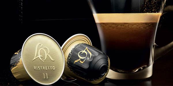 cápsulas de aluminio Café L'Or Espresso Ristretto 50 unidades compatibles con las cafeteras Nespresso