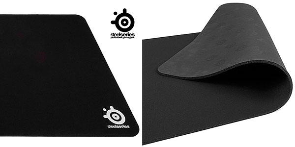 Alfombrilla de ratón gaming SteelSeries QcK XXL (900 x 400 mm) compatible con ratón láser y óptico en oferta