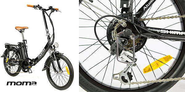 Chollo Bicicleta eléctrica plegable Moma E-Bike 20