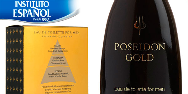 Chollo Eau de toilette Instituto Español Posseidon Gold de 150 ml para hombre