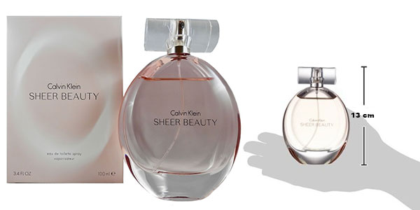 Chollo Eau de toilette Calvin Klein Sheer Beauty de 100 ml para mujer