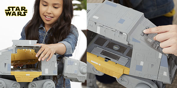 Chollo Playset Star Wars Rogue One Fuego Rápido Imperial con 3 figuras incluidas