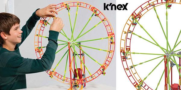 Chollo Set de montaje K'Nex Revolution Ferris Wheel de 344 piezas