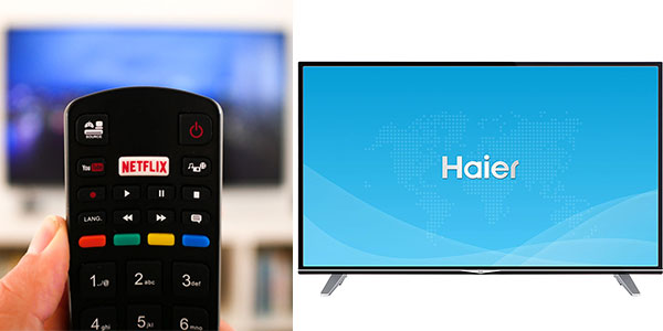 Chollo Smart TV Haier U55H7000 UHD 4K HDR de 55 pulgadas