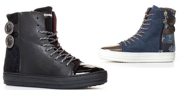 Desigual Denim Patch Reggae Jeans zapatillas chollo