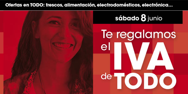 Eroski Día sin IVA 2019