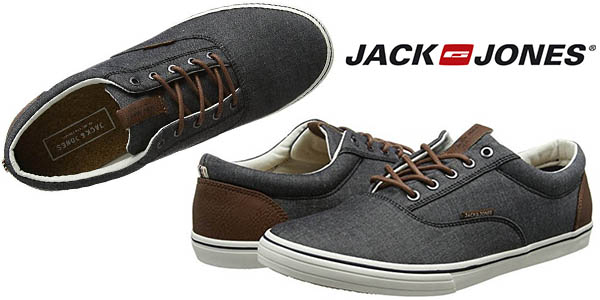 3a1c572d0c Jack   Jones Vision Chambray zapatillas de lona para hombre baratas