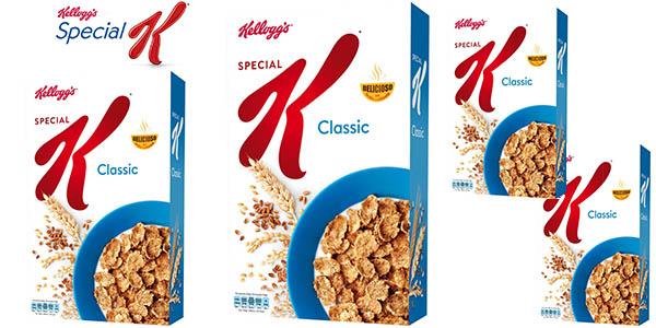 Kellogg's Special K 4 cajas de 500 gramos en oferta