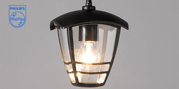 Lámpara colgante Philips myGarden Creek para iluminación exterior chollo en Amazon