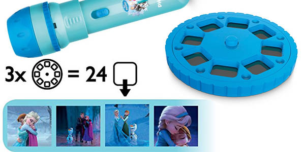 linterna infantil Philips Disney Frozen divertida y original en oferta