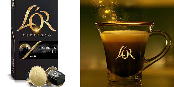 L'Or Café espresso Ristretto de intensidad fuerte en formato ahorro a precio de chollo