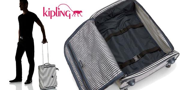 1ade5da8c Maleta de cabina Kipling Teagan XS printed extra pequeña con ruedas  chollazo en Amazon