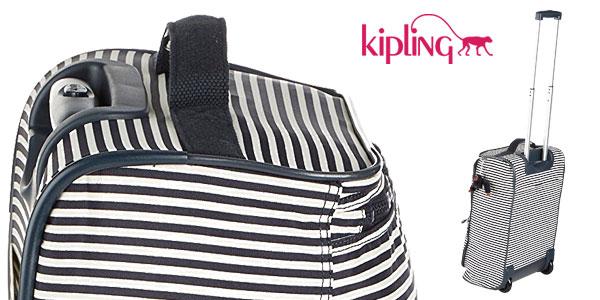 Maleta de cabina Kipling Teagan XS printed extra pequeña con ruedas chollo en Amazon