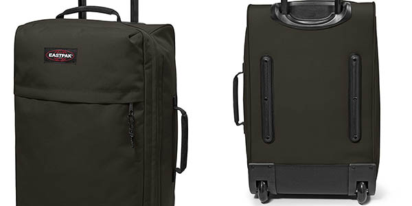 maleta de mano Eastpak Traf'ik Light Bush Khaki blanda de gran capacidad chollo