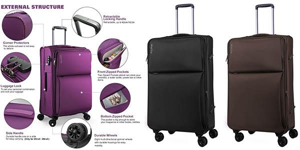 maleta semirrígida WindTook oferta flash Amazon