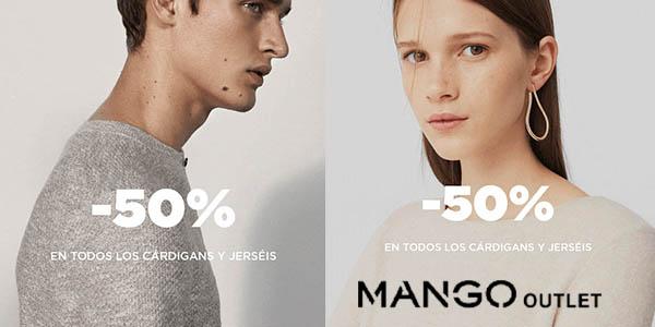 79feb5fa5eba 50% Jerseys y cárdigans para mujer en Mango Outlet con precios de ...
