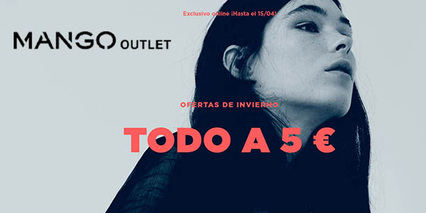Mango Outlet ropa barata abril 2018