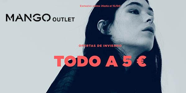 Mango Outlet ropa barata abril 2018