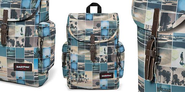 mochila Eastpak de estampado original y tamaño compacto oferta