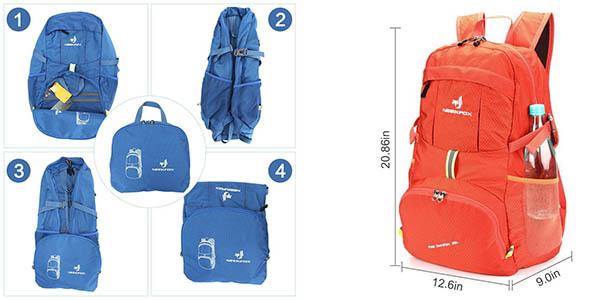 mochila multiusos ideal para excursiones con tejido resistente en oferta