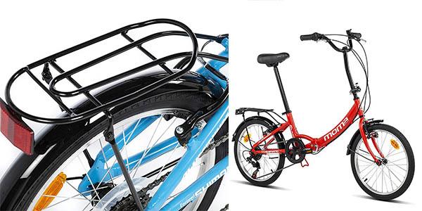 Moma Bikes First Class bicicleta con cambio Shimano plegable oferta