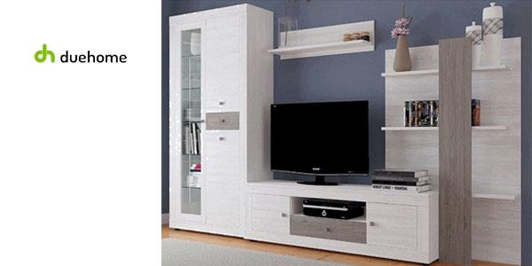 Chollo Mueble modular con luz LED para salón-comedor Julieta de ...