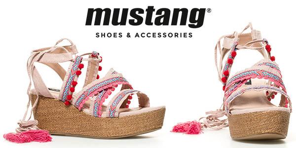 Mustang Zeniqua sandalias para mujer de cuña alta oferta