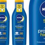 Crema solar Nivea Sun Protege & Hidrata SPF30 barata
