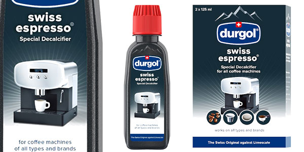 Pack 2 botes de Descalcificador universal Dulgor Swiss Espresso de 125 ml para cafeteras automáticas chollo en Amazon