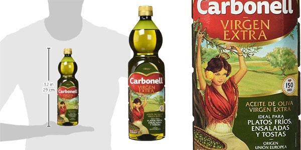 Pack x3 botellas Aceite de Oliva Virgen Extra Carbonell chollo en Amazon