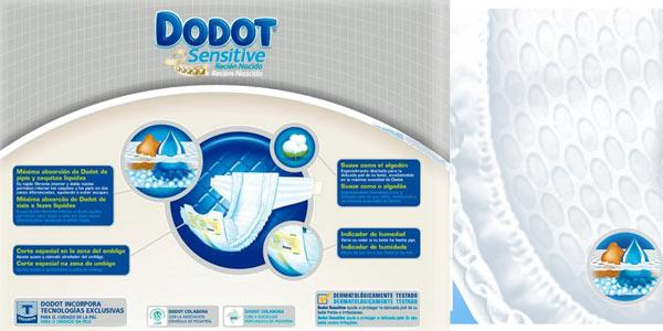 Pack de 48 Pañales Dodot Protection Plus Sensitive Talla 0 chollazo en Amazon